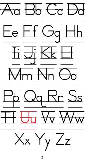 Alphabet (I Love U)